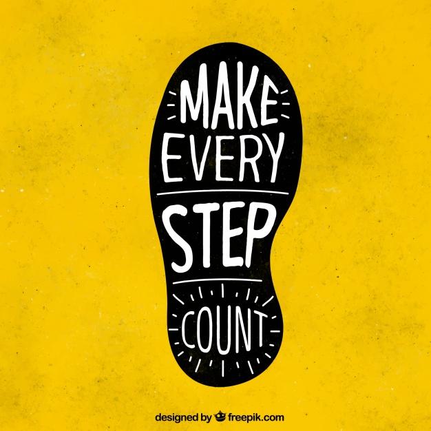 footprint-with-inspiring-message_23-2147621289